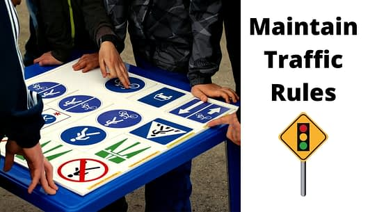 Maintain Traffic Rules