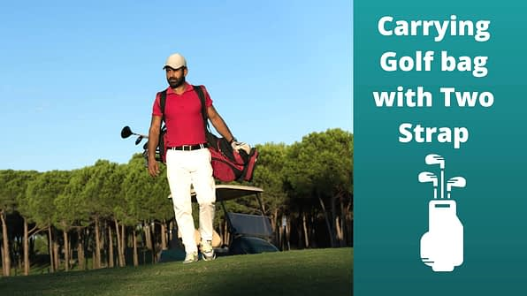 Carrying Golf bag with Two Strap