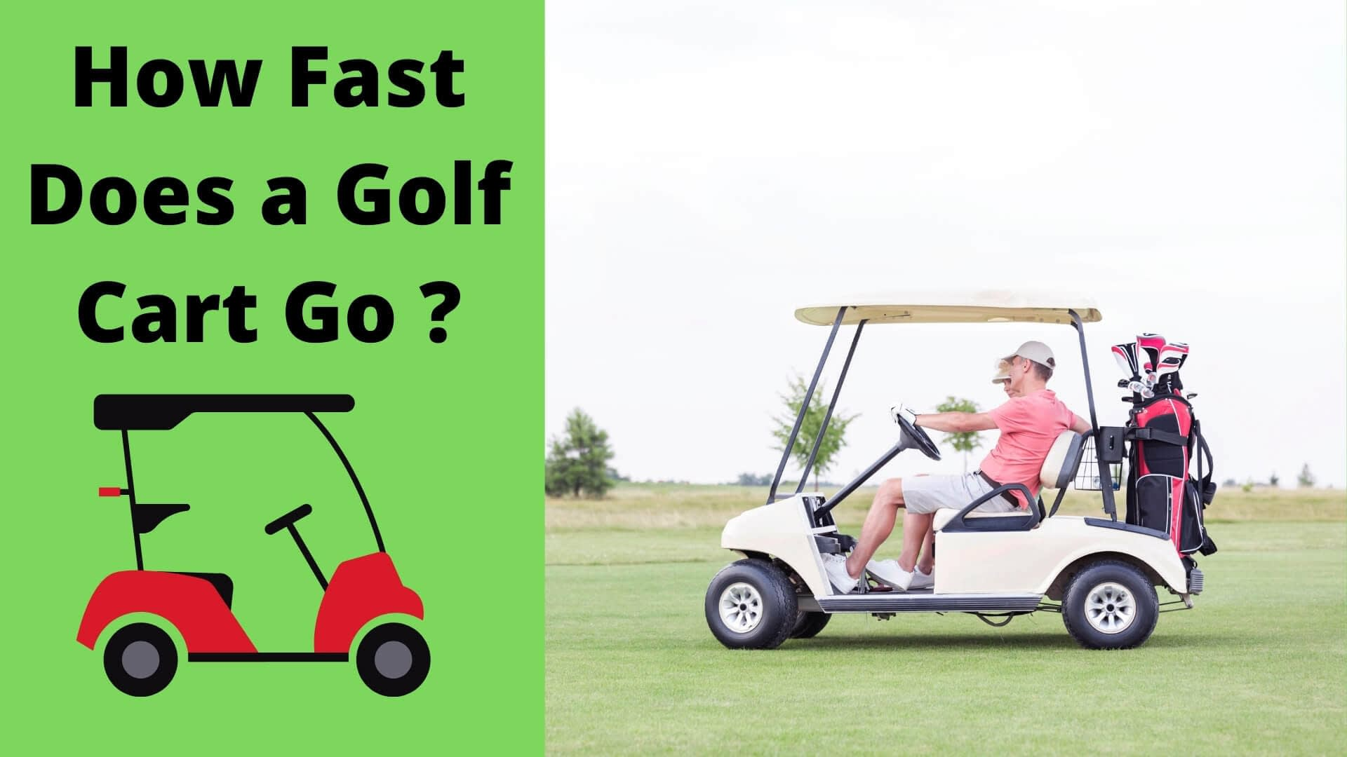 how fast does a golf cart go