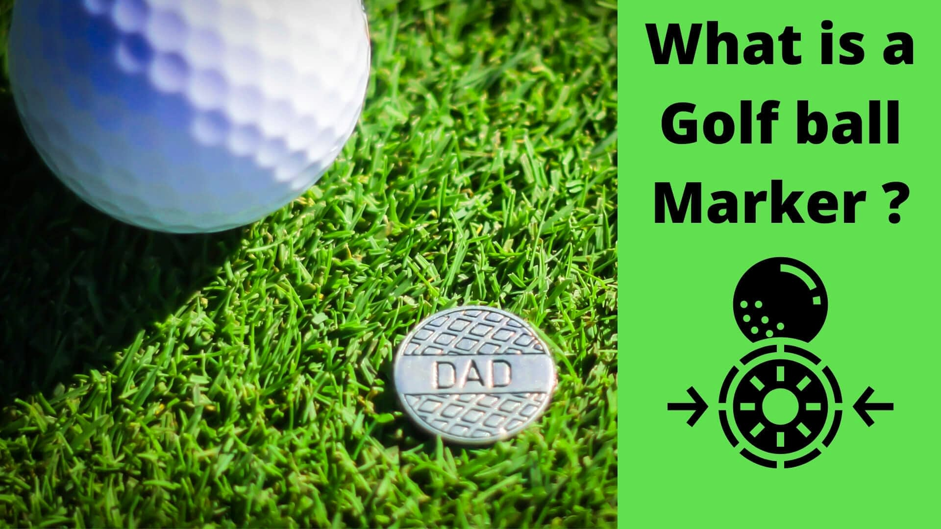 what is a golf ball marker
