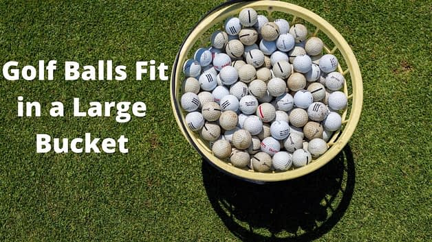 How Many Golf Balls Fit in a Large Bucket