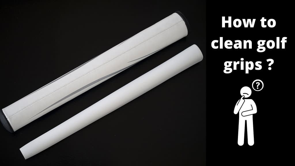 how to clean golf grips