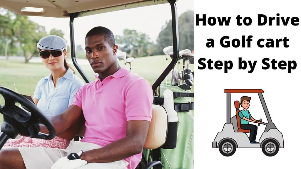 how to drive a golf cart
